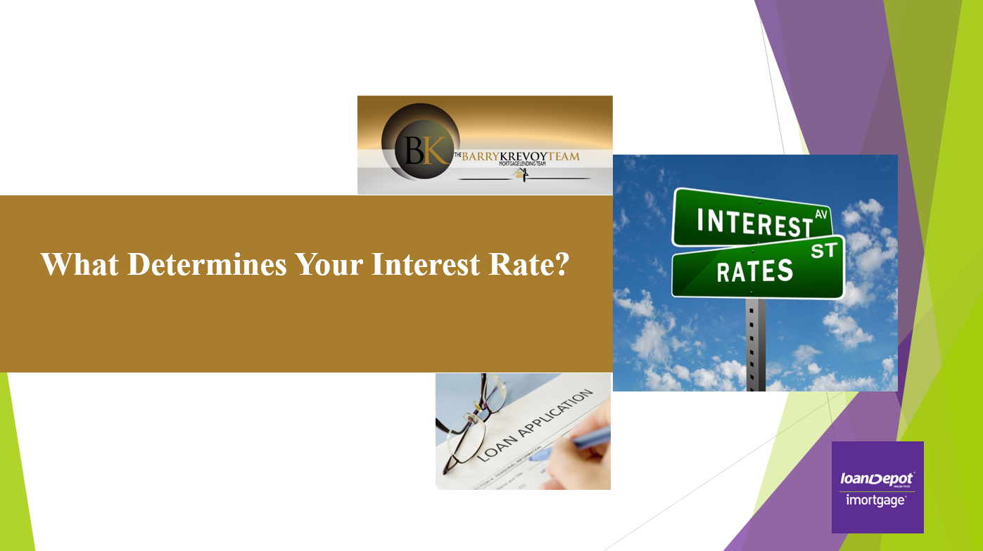 What Determines Your Interest Rate? - Loan Officer Barry
